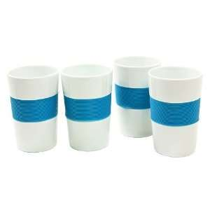 Wolfgang Puck Cafe Mug Set of 4 Blue