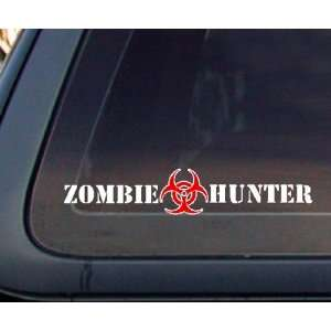 Zombie Hunter Car Decal / Sticker