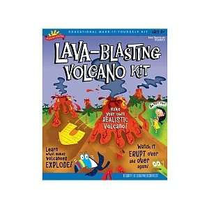Scientific Explorer Lava Blasting Volcano Science Kit  Toys & Games