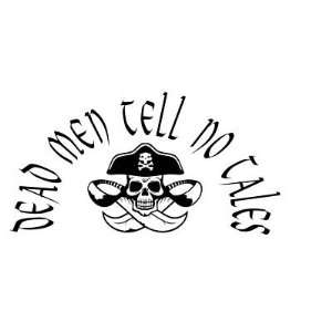 DEAD MEN TELL NO TALES   Beach House  Vinyl Wall Art