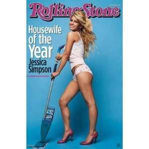 Jessica Simpson Rolling Stone Cover    Print