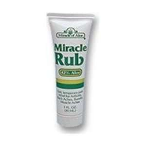 Miracle Rub Pain Relieving Cream (8 oz Tube) Health