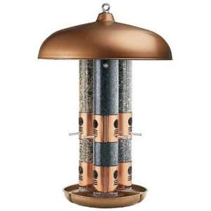 Perky Pet 7103 2 Copper Triple Tube Bird Feeder Patio, Lawn & Garden