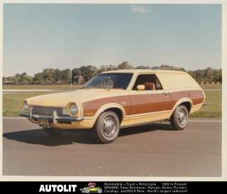 1972 Ford Pinto Station Wagon Factory Photo