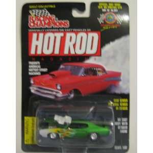 Racing Champions Hot Rod Issue 97d 69 Pontiac Gto
