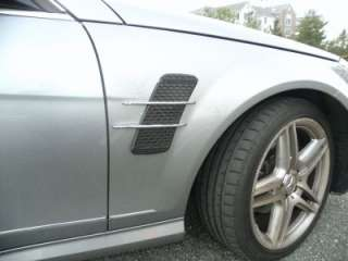 2013 MERCEDES AMG STYLE CHROME FIN BODY KIT for CL SLK GLK GL