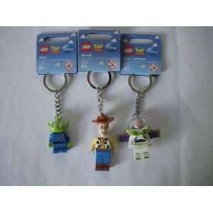 Bundle of 3 Toy Story Lego Friends Keychain Set