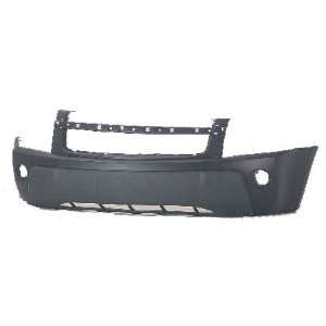 Chevy Equinox Primed Black Replacement Front Bumper Cover Automotive