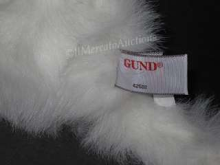 GUND Plush ROYALE Kitten Stuffed White Persian CAT Toy